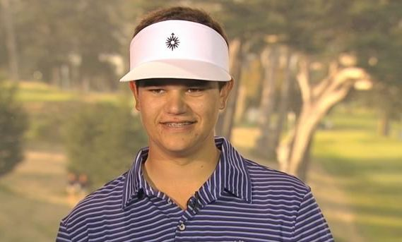 17 Year Old Amateur Golfer Beau Hossler Has Orthodontic Braces!