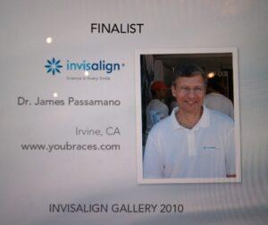 Invisalign Provider James Passamano Win Award