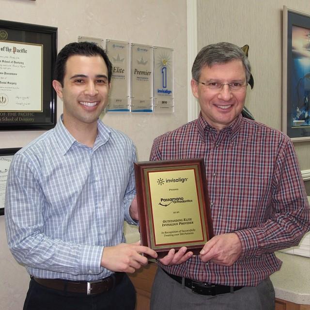 Drs Passamano Invisalign Award Winner