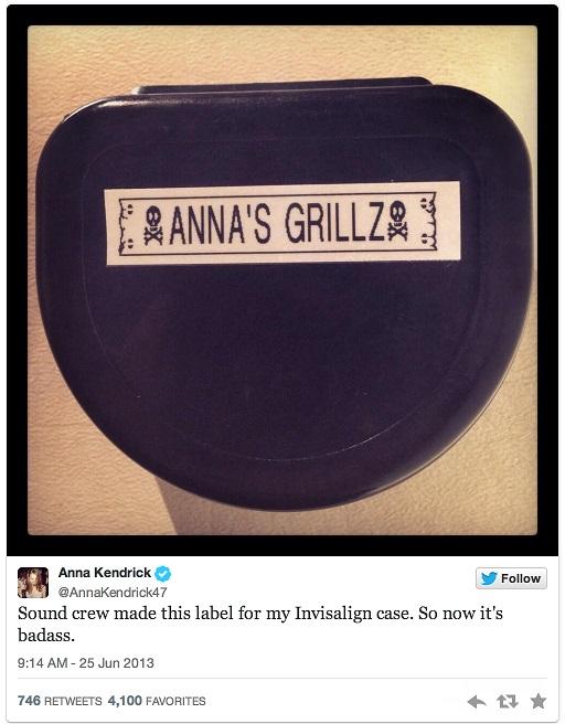 Anna Kendrick Invisalign Case 2