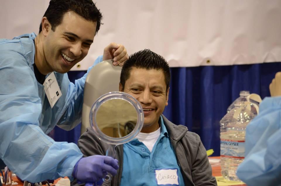 Dr. Robert Volunteers with CDA Cares