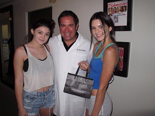 Dr Kevin Sands Kendall Jenner